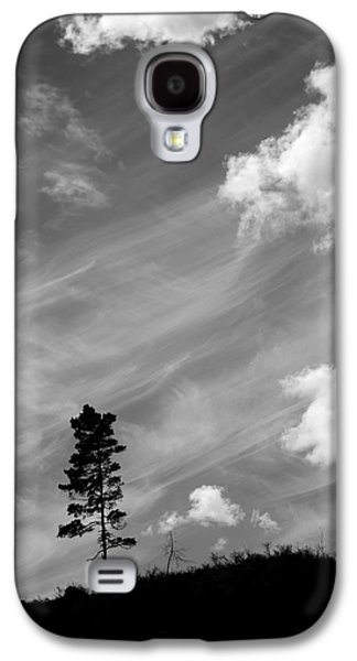 Pine Silhouettes Galaxy S4 Case by Toppart Sweden