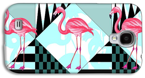 Ping Flamingo Galaxy S4 Case by Mark Ashkenazi