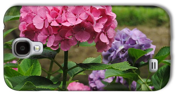 Pinks And Purple Petals Photographs Galaxy S4 Cases - Pink and Purple Galaxy S4 Case by Kathleen Sartoris