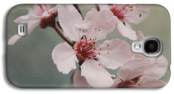 Pink Blossoms 2- Art By Linda Woods Galaxy S4 Case by Linda Woods