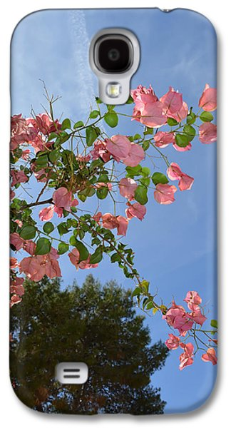 Botanical Galaxy S4 Cases - Pink Bougainvillea Galaxy S4 Case by Aimee L Maher Photography and Art