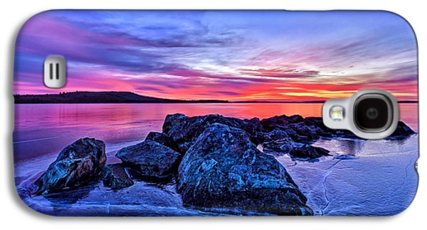 Digitally Manipulated Galaxy S4 Cases - Pink Ice at Dawn Galaxy S4 Case by Bill Caldwell -        ABeautifulSky Photography