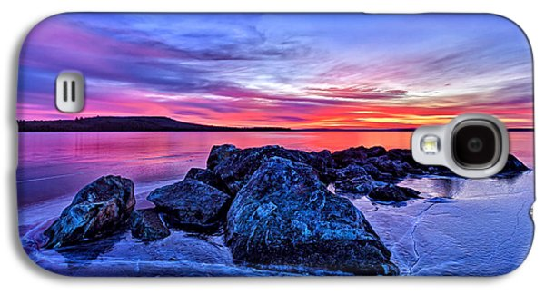 Bill Caldwell Galaxy S4 Cases - Pink Ice at Dawn Galaxy S4 Case by Bill Caldwell -        ABeautifulSky Photography
