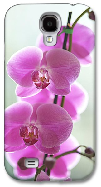 Printscapes - Galaxy S4 Cases - Pink Orchids Galaxy S4 Case by Kicka Witte - Printscapes
