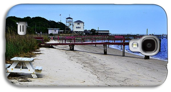 Beach Landscape Galaxy S4 Cases - Pink Pier Southport Galaxy S4 Case by Amy Lucid