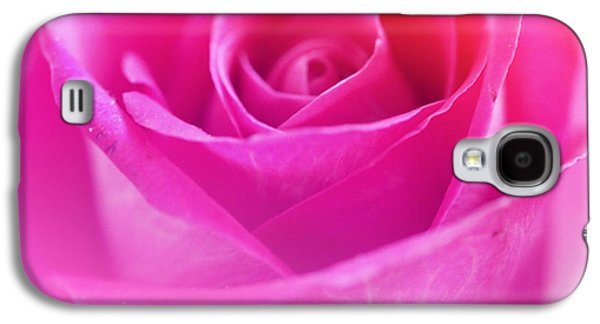 Abstracts Galaxy S4 Cases - Pink Rose Valentine Flora Color Galaxy S4 Case by Jumnian Barisee