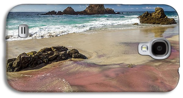 Pink Sand Beach In Big Sur Galaxy S4 Case by Pierre Leclerc Photography