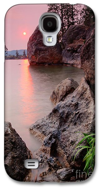 Dreamscape Galaxy S4 Cases - Pink Water Galaxy S4 Case by Idaho Scenic Images Linda Lantzy