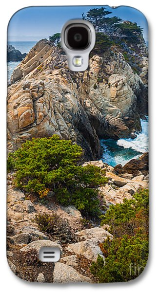 Point Lobos State Galaxy S4 Cases - Pinnacle Point Galaxy S4 Case by Inge Johnsson