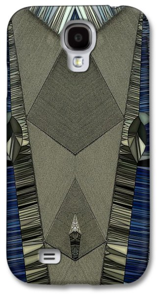 Abstracted Galaxy S4 Cases - Pins and Needles Galaxy S4 Case by Ron Bissett
