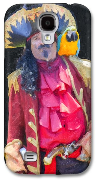Captains Quarters Galaxy S4 Cases - Pirate Captain Galaxy S4 Case by David Millenheft