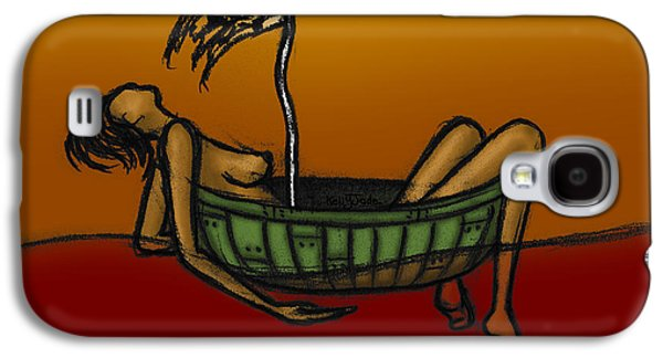 Pirates Galaxy S4 Cases - Pirate Galaxy S4 Case by Kelly Jade King
