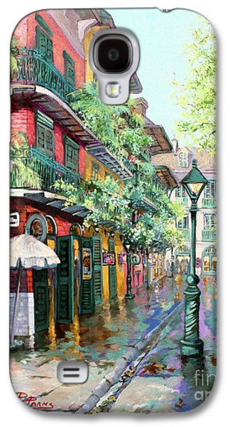 Street Paintings Galaxy S4 Cases - Pirates Alley Galaxy S4 Case by Dianne Parks