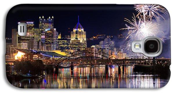 Pittsburgh 1  Galaxy S4 Case by Emmanuel Panagiotakis