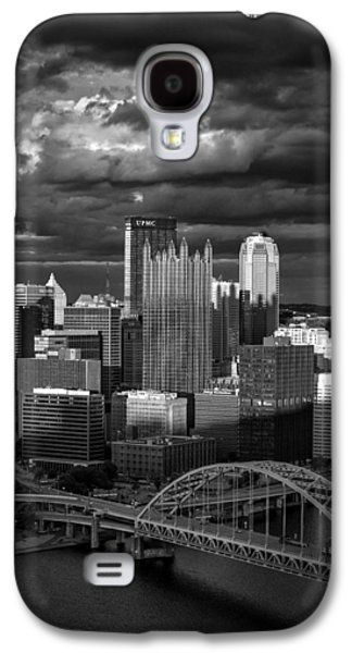 Pittsburgh Pennsylvania Skyline Galaxy S4 Case by David Haskett