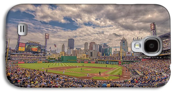 Pittsburgh Pirates 1a Pnc Park Galaxy S4 Case by David Haskett