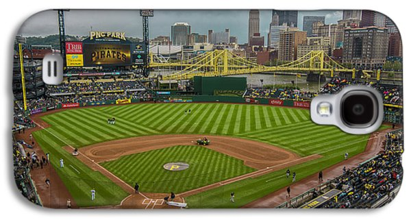 Pittsburgh Pirates Pnc Park 5569 Galaxy S4 Case by David Haskett