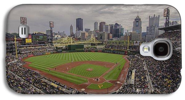 Pittsburgh Pirates Pnc Park Bucs Galaxy S4 Case by David Haskett