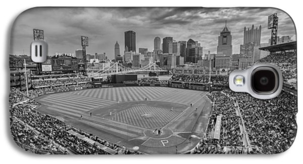Pittsburgh Pirates Pnc Park Bw X1 Galaxy S4 Case by David Haskett
