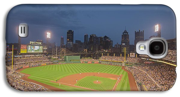 Pittsburgh Pirates Pnc Park X2 Galaxy S4 Case by David Haskett