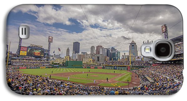 Pittsburgh Pirates Pnc Park X3 Galaxy S4 Case by David Haskett