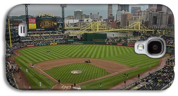 Pittsburgh Pirates Pnc Park X5 Galaxy S4 Case by David Haskett