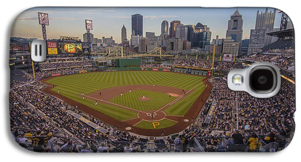Pittsburgh Pirates Pnc Park X6 Galaxy S4 Case by David Haskett