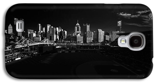 Pittsburgh Skyline Pnc Park Pirates Galaxy S4 Case by David Haskett