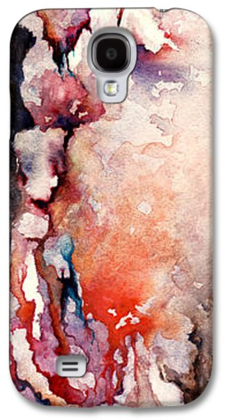Sadness Paintings Galaxy S4 Cases - Places in the Heart Galaxy S4 Case by Rachel Christine Nowicki