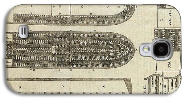 Slavery Galaxy S4 Cases - Plan of Brooks Slave Ship Galaxy S4 Case by American School