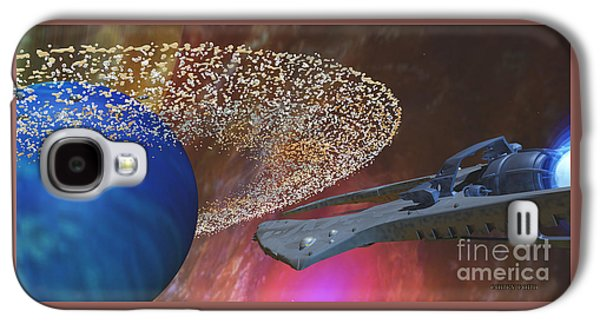 Planet Asteroids Galaxy S4 Case by Corey Ford