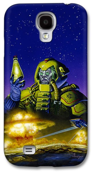 Planet Wars Galaxy S4 Case by Richard Hescox