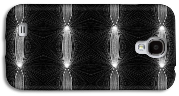 Plankton Digital Galaxy S4 Cases - Plankton and Crankton Dance Galaxy S4 Case by Catherine Lott
