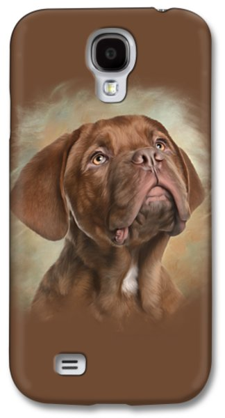 Puppies Digital Galaxy S4 Cases - Please Galaxy S4 Case by Sandy Oman