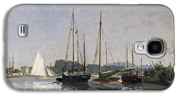 Pleasure Boats Argenteuil Galaxy S4 Case by Claude Monet