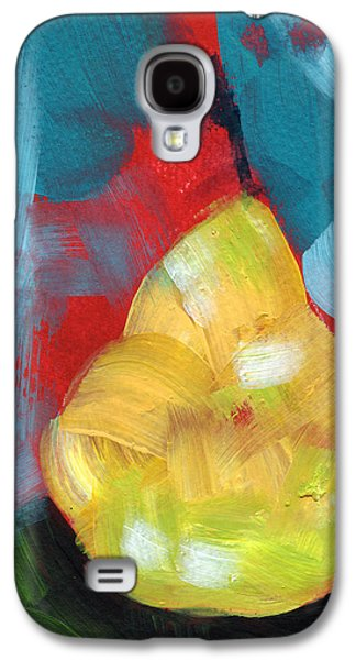 Plump Pear- Art By Linda Woods Galaxy S4 Case by Linda Woods
