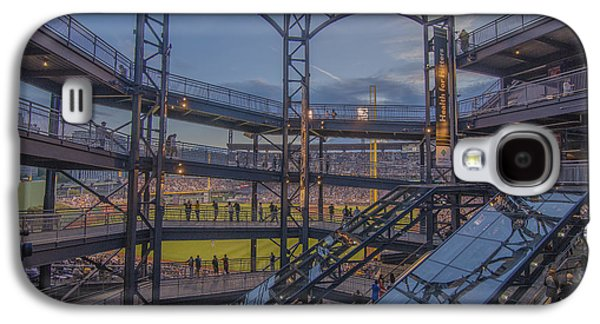 Pnc Park Pittsburgh Pirates D Galaxy S4 Case by David Haskett