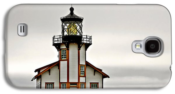 Coast Highway One Galaxy S4 Cases - Point Cabrillo Lighthouse California Galaxy S4 Case by Christine Till