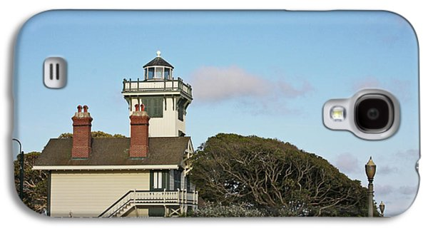 Coast Highway One Galaxy S4 Cases - Point Fermin Light - an elegant Victorian Style Lighthouse in CA Galaxy S4 Case by Christine Till