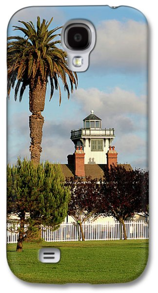 Historic Home Galaxy S4 Cases - Point Fermin Light - San Pedro - Southern California Galaxy S4 Case by Christine Till
