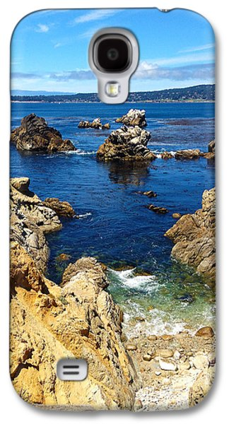 Whalers Cove Galaxy S4 Cases - Point Lobos Whalers Cove- seascape art Galaxy S4 Case by Kathy  Symonds