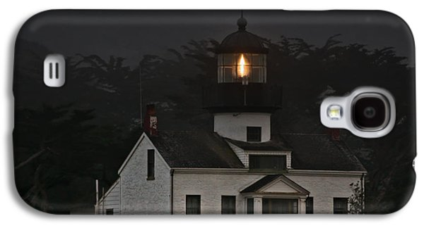 Coast Highway One Galaxy S4 Cases - Point Pinos Lighthouse CA Galaxy S4 Case by Christine Till