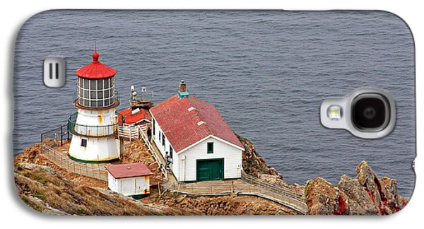Coast Highway One Galaxy S4 Cases - Point Reyes Lighthouse CA Galaxy S4 Case by Christine Till