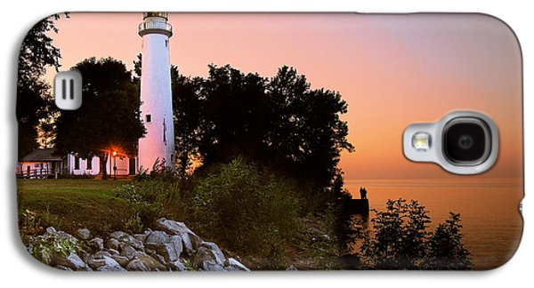 Hope Photographs Galaxy S4 Cases - Pointe Aux Barques Galaxy S4 Case by Michael Peychich