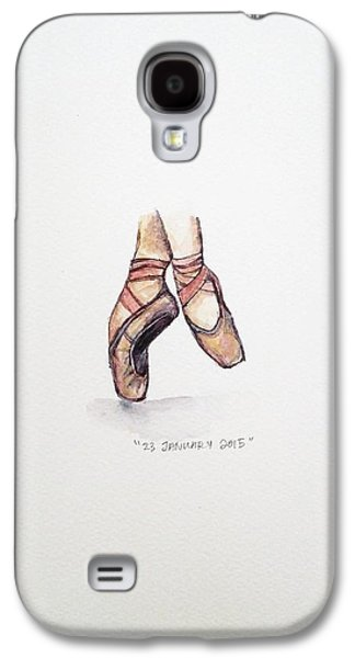 Pointe On Friday Galaxy S4 Case by Venie Tee