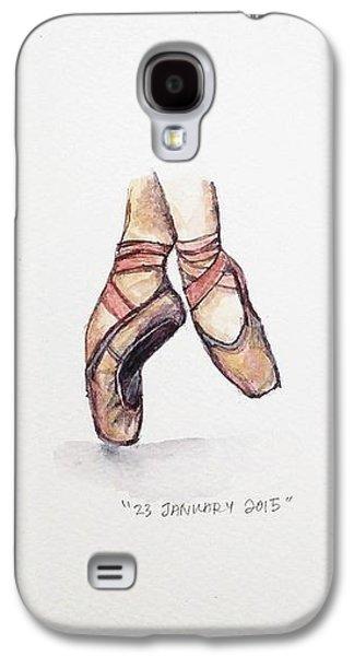 Ballerinas Galaxy S4 Cases - Pointe on Friday Galaxy S4 Case by Venie Tee