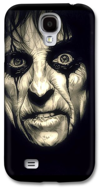 Poison Alice Cooper Galaxy S4 Case by Fred Larucci