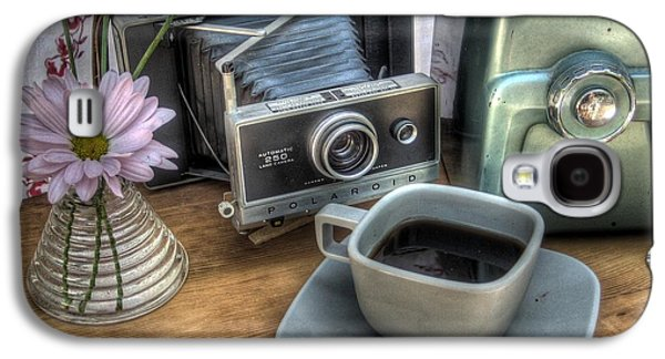 Camera Galaxy S4 Cases - Polaroid perceptions Galaxy S4 Case by Jane Linders