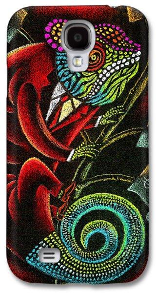 Political Chameleon Galaxy S4 Case by Leon Zernitsky
