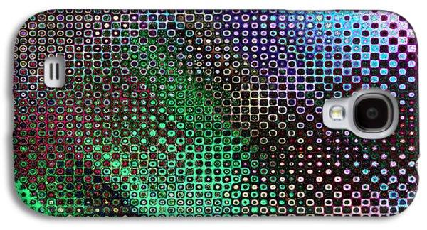 Abstract Digital Digital Galaxy S4 Cases - Polychromic Abstract Galaxy S4 Case by Candice Danielle Hughes